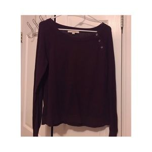 Plum Loft Sweater
